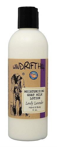 Windrift Hill Moisturizing Goat's Milk Lotion, Choice of Scent