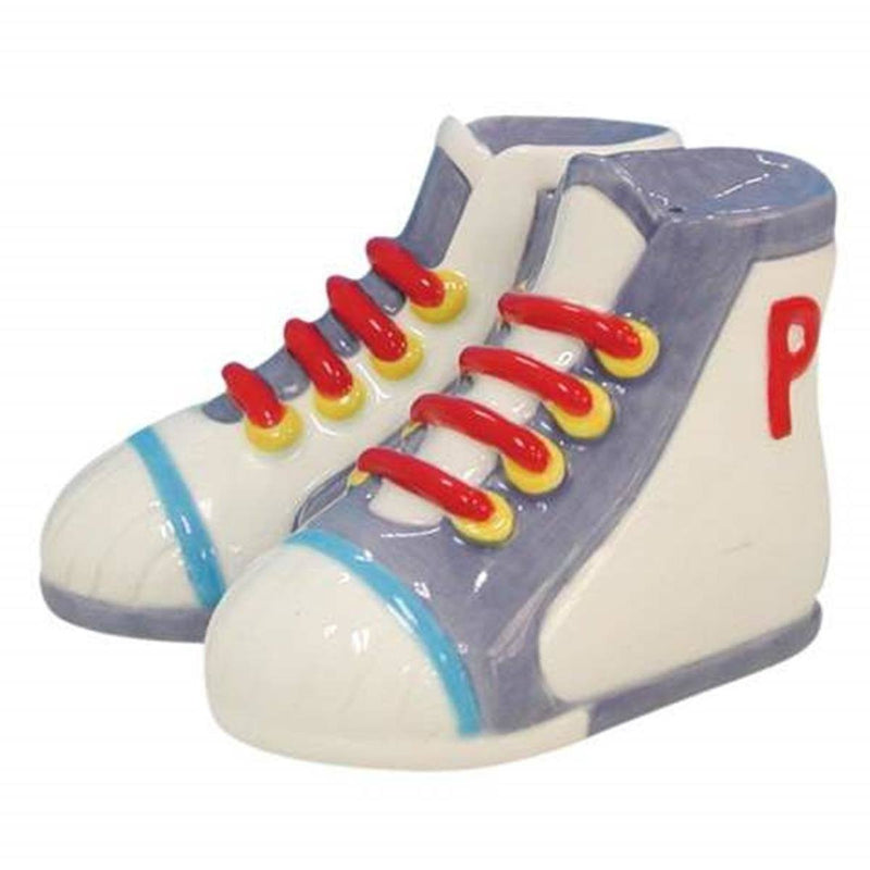 "Westland Giftware ""Sneakers"" Ceramic Salt and Pepper Shakers"