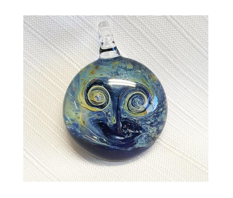 Boise Art Glass Starry Night Pendant, Handmade in the USA - Gifts From A Distance