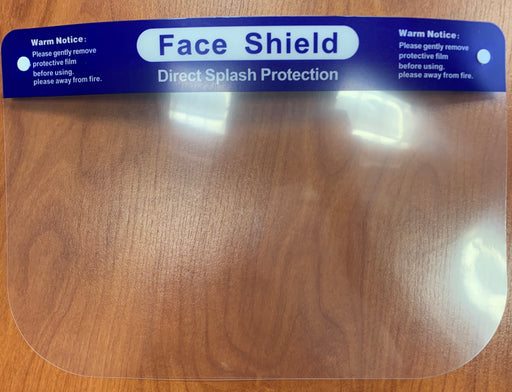 Face Shield, Direct Splash Protection (BX/10)