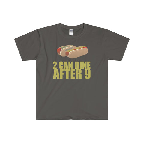 """2 CAN DINE"" Softstyle® Adult T-Shirt"