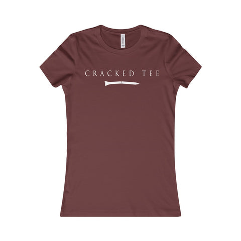 CRACKED TEE Women's Favorite Tee