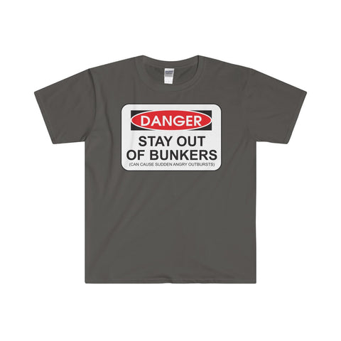 """DANGER"" Softstyle® Adult T-Shirt"