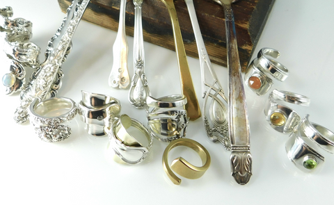 Silverware Jewelry in the Workshop: basic tools