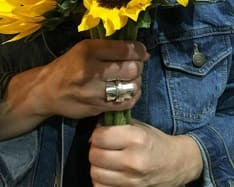 Meadow Flower Whole Spoon Ring Review from Jennifer at cuteteachings.com