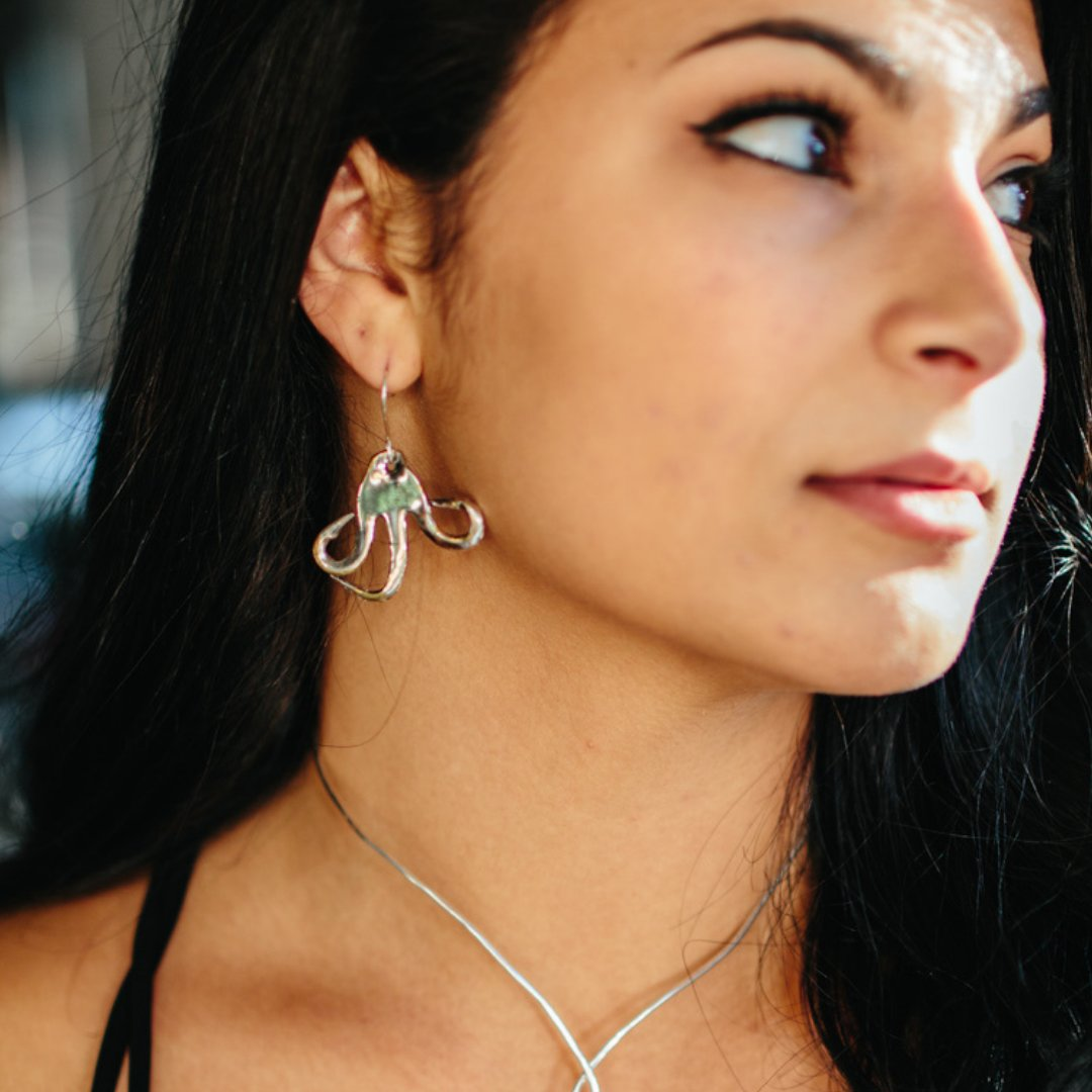 Silverware Jewelry Earrings