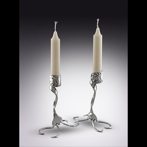 Twisted Fork Candlesticks