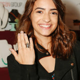Spoon Ring worn by Soni Nicole Bringas, Lost & Forged