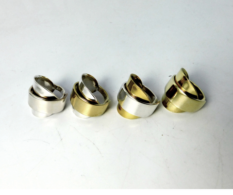Gold Spoon Rings & Two-Tone Spoon Rings