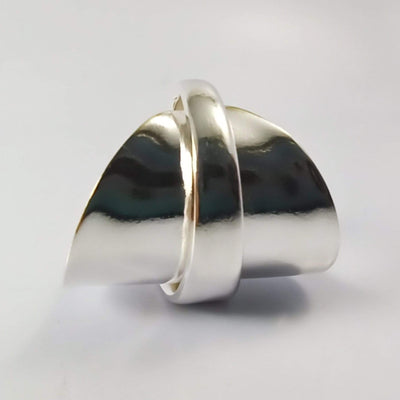 spoon ring Elegance Silver Whole Spoon Ring