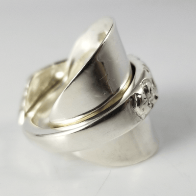 spoon ring Floralism Solid Silver Whole Spoon Ring