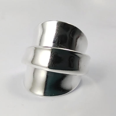 spoon ring Leilani Silver Whole Spoon Ring