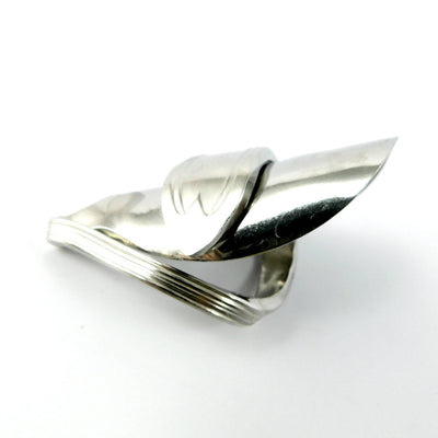 spoon ring Twisted Handle Whole Silver Spoon Ring