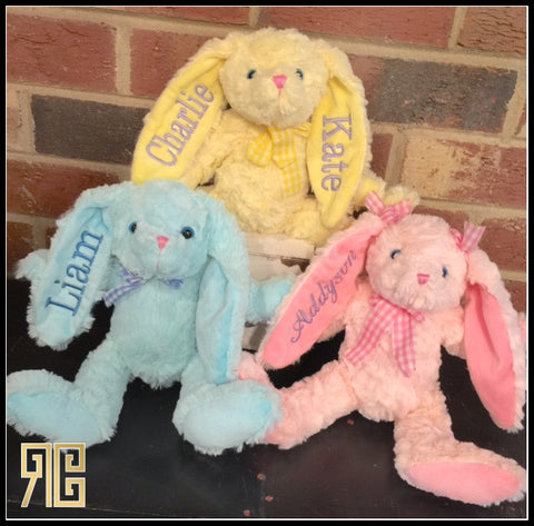 Personalized Easter Bunnies **SPECIAL SALE PRICE**