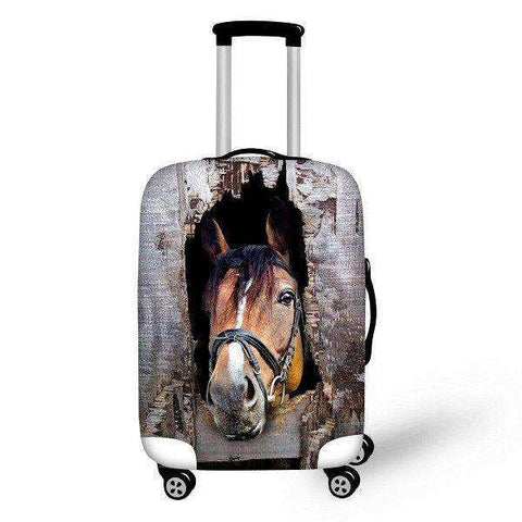 3D Luggage Covers - Protective Luggage Covers