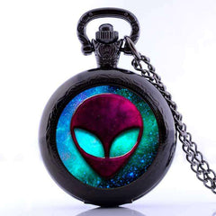 Alien Watch In Pendant Style