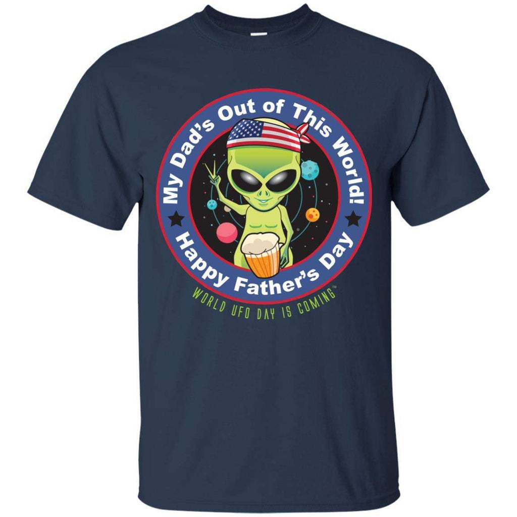 ALIEN Happy Father's Day Youth Unisex Ultra Cotton T-Shirt