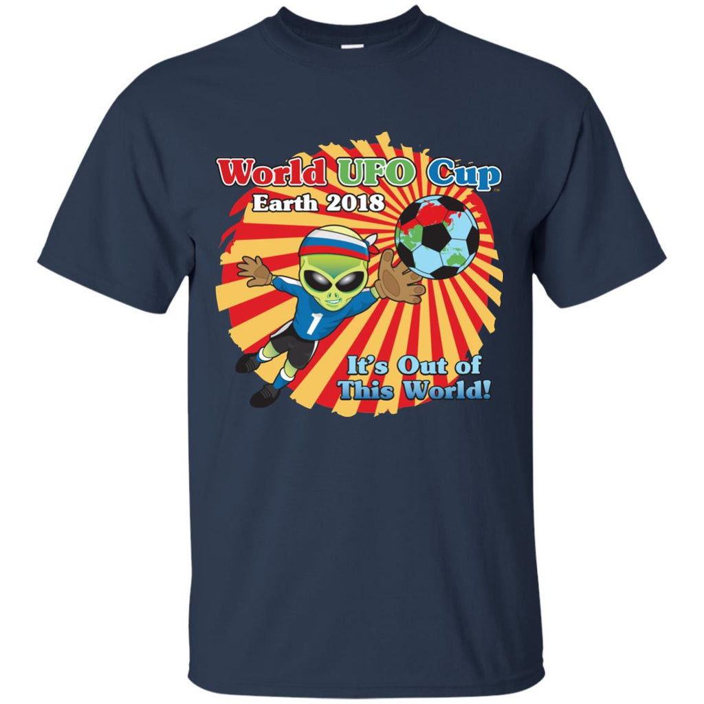 "World UFO Cup 2018 ""It's Out of This World"" Unisex Premium Cotton Shirt"