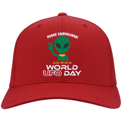 World UFO Day Limited Edition Embroidered Cap