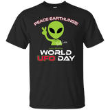 "World UFO Day 2017 ""KEEP CALM"" Limited Edition Unisex TEE and HOODIE"