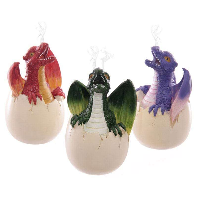 Baby Dragon Egg Incense Cone Burner