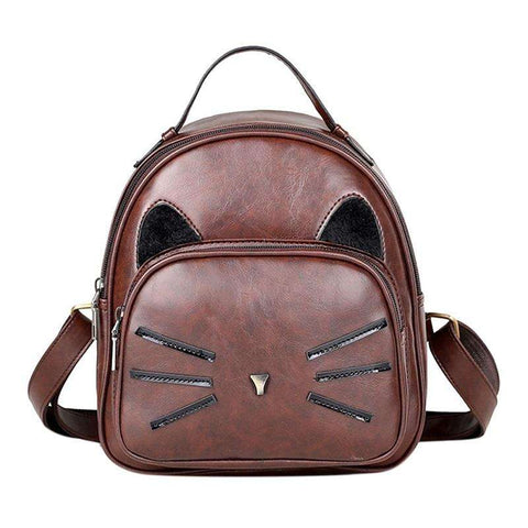 Cat Faced Backpack