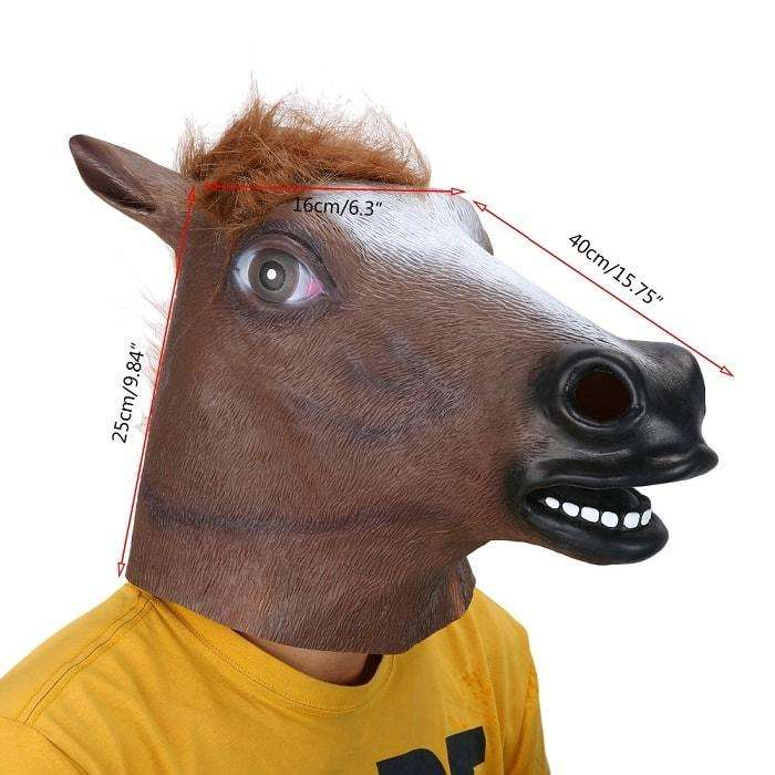 Halloween Horse Head Mask