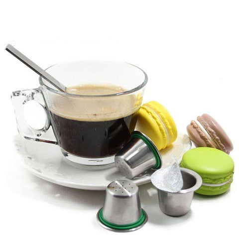Coffee Capsules - Refillable Coffee Capsules For Nespresso Machines