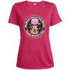 "Image of ALIEN Mother's Day ""My Mom's Out of his World"" Ladies' Dri-Fit Moisture-Wicking Tee"
