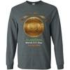 "Image of ""One Galaxy One Currency AlienCoin"" World UFO Day Men's Long Sleeve Ultra Cotton T-Shirt"