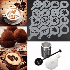 Home Barista Shaker and Stencil Kit