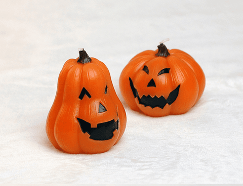Halloween Jack O' Lantern Scented Candle