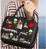 "Image of ""You're The Most Beautiful Mother In The World"" Embroidered Handbag"