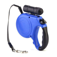 Dog Leash Retractable - 5 Meter Retractable Dog Leash With LED Flashlight