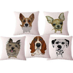 Handmade Dog Throw Pillow Covers - 30% Off Black Friday Special