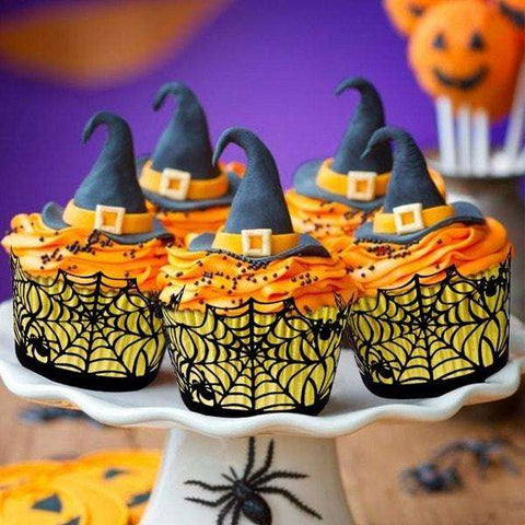Halloween Party Cupcake Wrappers