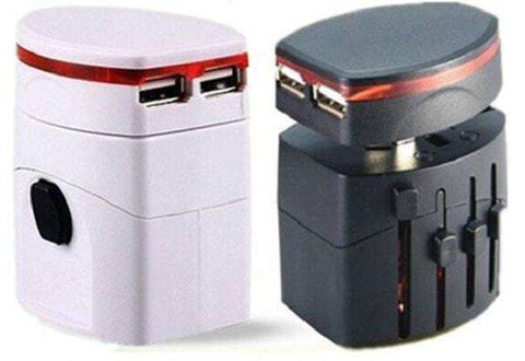 Universal Dual USB Travel Adapter