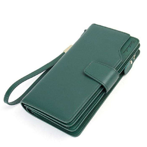 Women's Long Leather Wallet