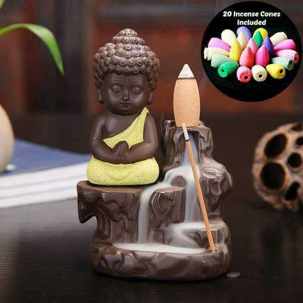 Incense Burner - Buddha Cone Incense Burner </br>60% Off - Limited Time Offer!
