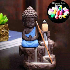 Buddha Cone Incense Burner 60% Off - Limited Time!