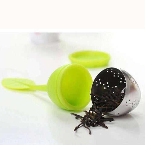 Tea Strainers - Set Of 4 Cute And Colorful Tea Leaf Infusers - With Bonus 5th Tea Infuser