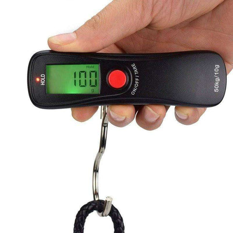 Travel Scale - Portable LCD Hanging Luggage Scale </br>Buy 1 Get 1 Free - Limited Time Offer!