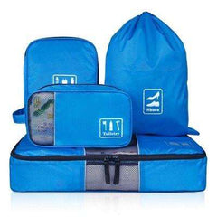 Travel Storage Bags - Suitcase Travel Accessories Storage Set