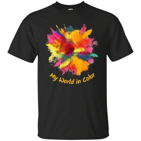 My World in Color Unisex T-Shirt