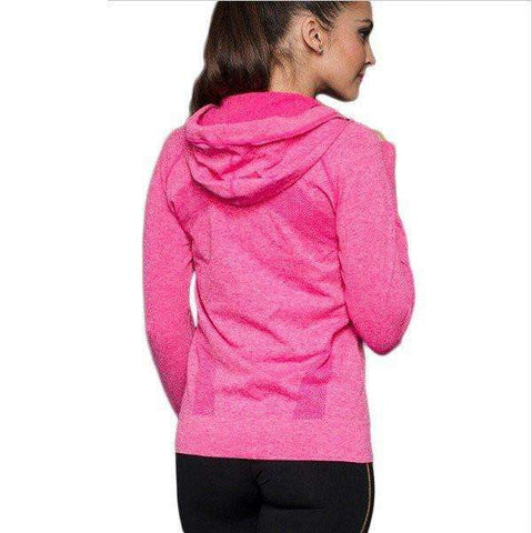 Yoga Hooded Sports Jacket - Yoga Hooded Sports Jacket