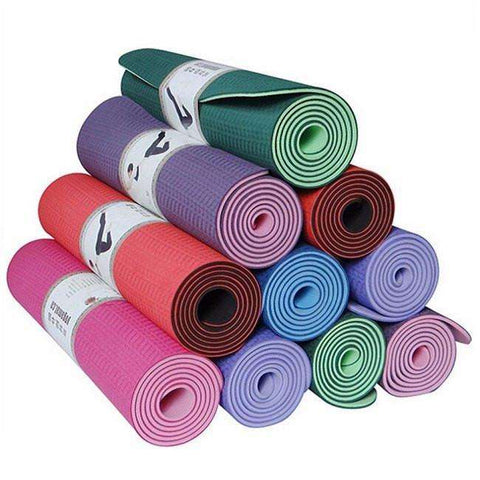 Yoga Mat - Eco-Friendly Yoga Mat (TPE)