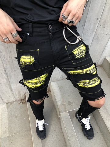 BIOHAZARD DENIM BLACK