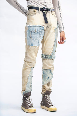 Submerged Denim Beige