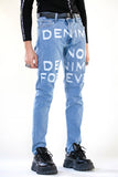 DENIM NOW DENIM FOREVER DISTRESSED DENIM