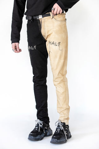 Half/Half Moon Denim
